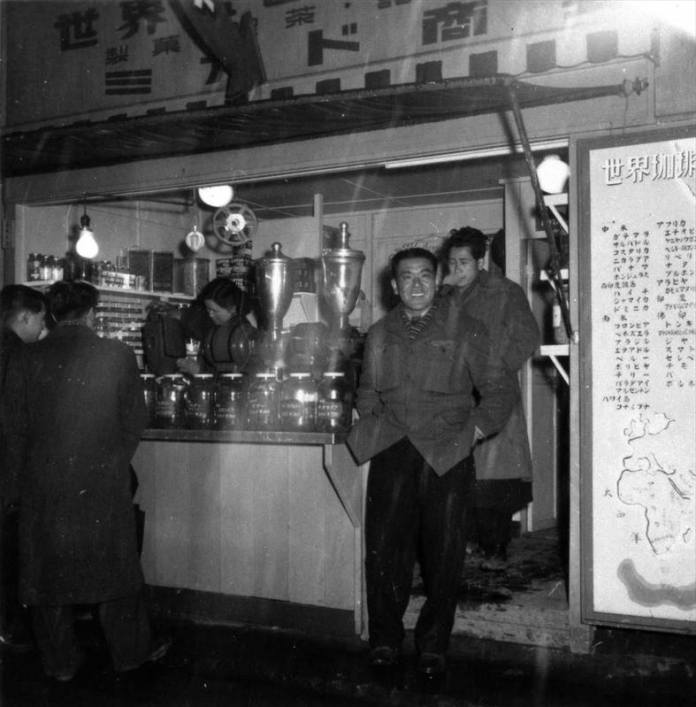 Humble Origins - Mikado Coffee started its long history as a coffee stand in 1949