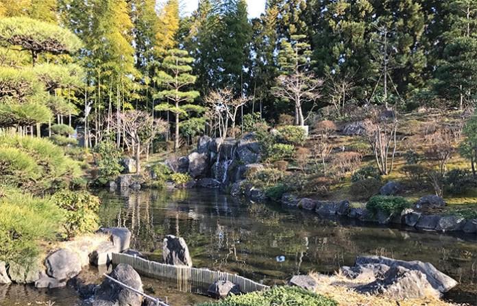 Saishou Tea Garden inside Tokorozawa's Aviation Memorial Park (Saitama)