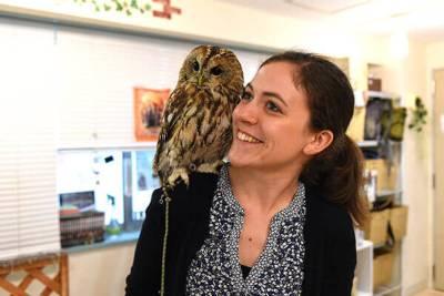 foreigner visitor tourist owl cafe ikebukuro