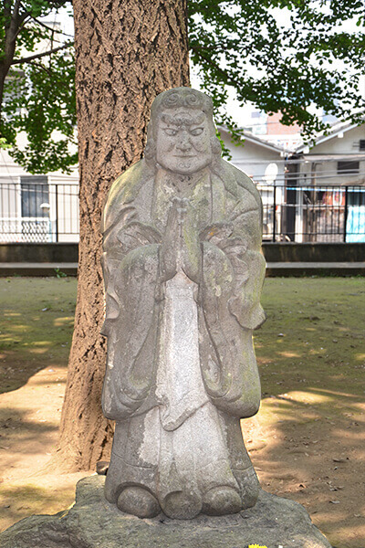 statue demon Kishimojin-do Temple