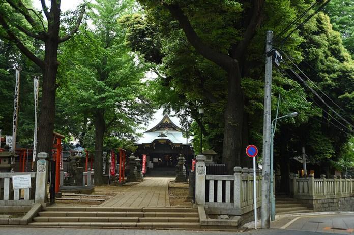 temple in zoshigaya