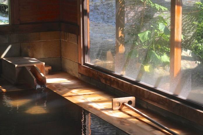 One of the many onsen in Yanaizu town in Fukushima
