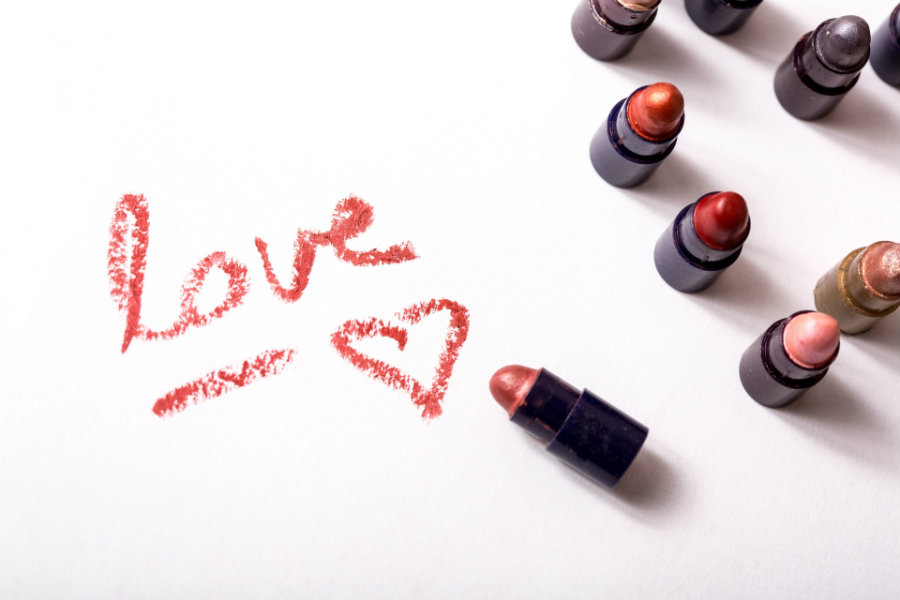 love in lipstick