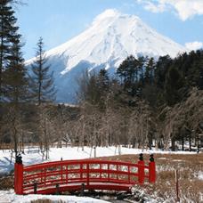 Winter course Enjoy viewing Mt Fuji from Lake Yamanaka in winter