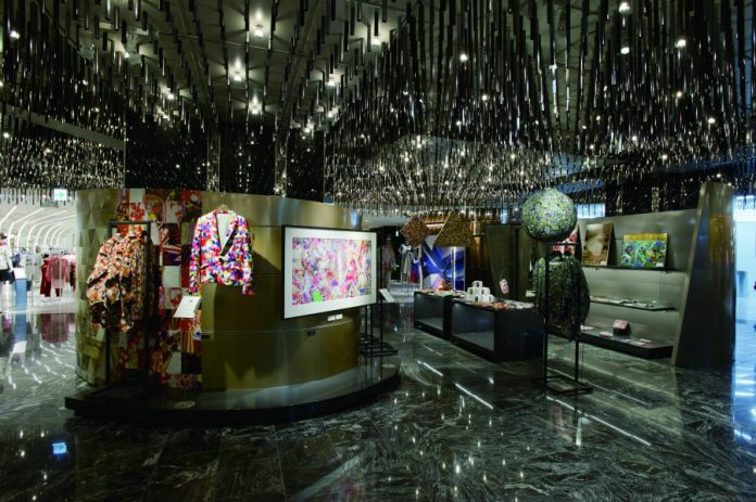 """Promotional Space """"Park"""" in the present Isetan Shinjuku store"""