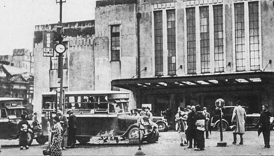 Shinjuku Station in 1932