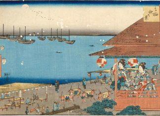 Odaiba Kurofune Ukiyoe