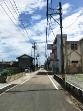 Landscapes around JR Namie Station 07