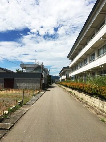 Landscapes around JR Namie Station 03