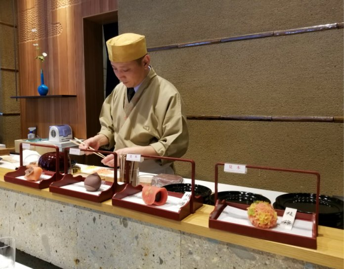 wagashi chef