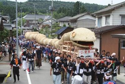 niigata serpent festival