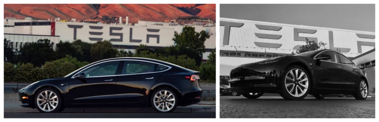 Top 5 Electric Vehicle News Stories of Week 27 2017 tesla model 3 sn1