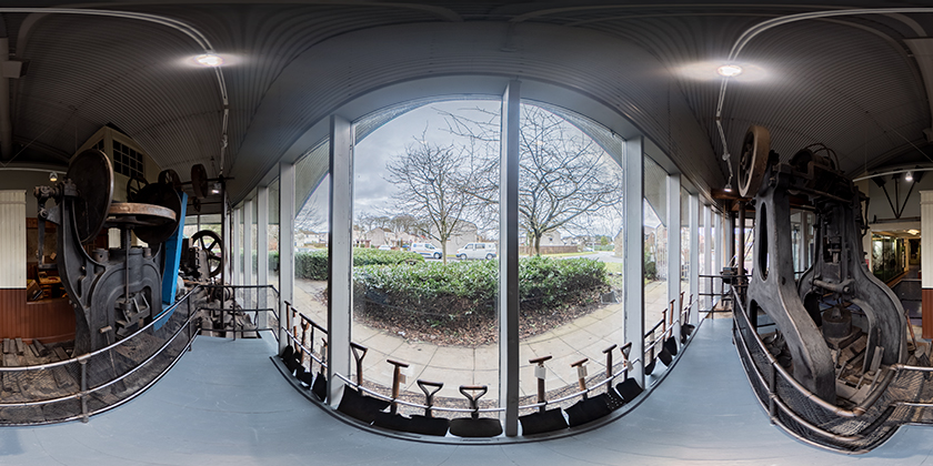Panoramic image for 360° Virtual Tour © 2021 CAOIMHIN WATTS