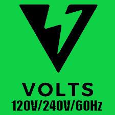120V/240V/60Hz - North America