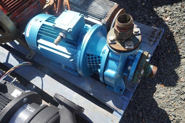 Pump Ajax 50mm 7.5 kw motor – Watts Meat Machinery