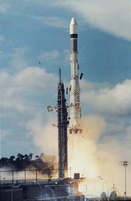 Premier lancement d'Ariane 1 en 1979