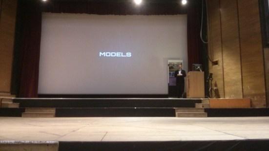 Models title slide
