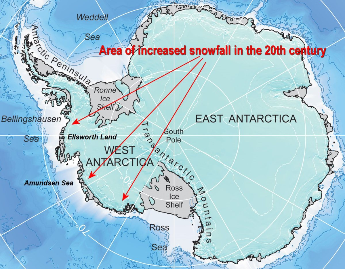 Yet another study shows Antarctica gaining ice mass