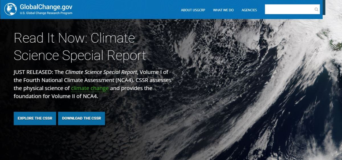 What You Won't Find in the New National Climate Assessment
