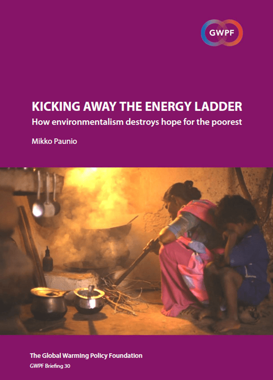 Kicking away the energy ladder – How environmentalism