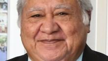 Samoan Prime Minister Tuilaepa Aiono Sailele Malielegaoi