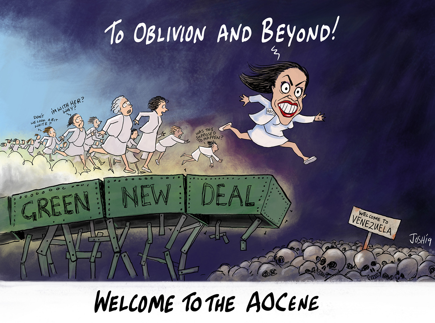 """Friday Funny – Welcome to the """"AOCene"""" 