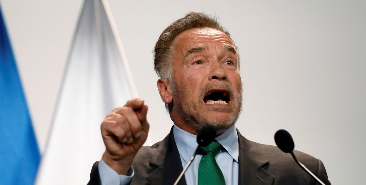 Arnold Schwarzenegger Planning To Sue Oil Companies To Force