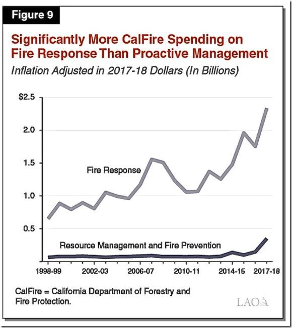 California's government solely responsible for states forest