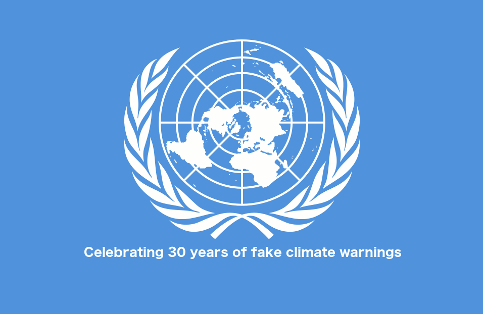 """30 Year Anniversary of the UN 1989 """"10 years to save the"""