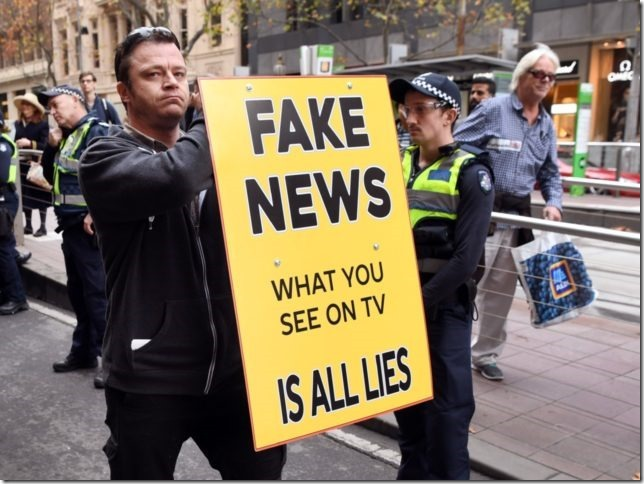 Pew: Americans Say Fake News Is Bigger Problem than 'Climate