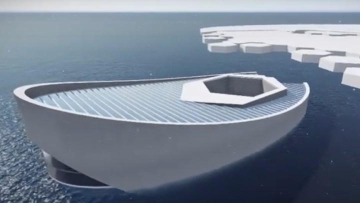 Arctic Ice Maker Submarine