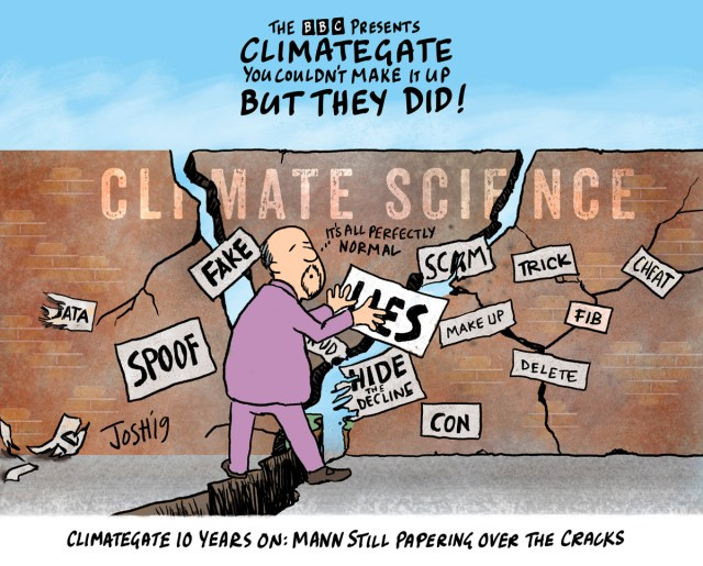 It's Officially the Tenth Anniversary of Climategate – and they've learned nothing