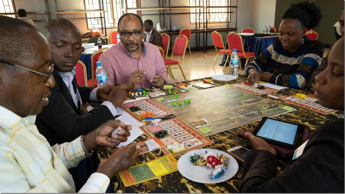 Africans who live next to an internationally known wildlife area been questioned by more than a few researchers. That can lead to questionnaire fatigue. But what if you get to express your thoughts by playing an engaging board game? Credit: Photo: Per Harald Olsen/NTNU