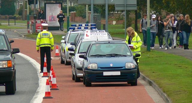 Aussie Police Checkpoint