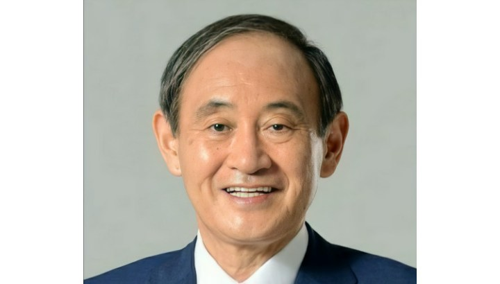 Official portrait of Yoshihide Suga, leader of the Liberal Democratic Party of Japan