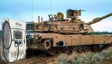 EV Military Tank