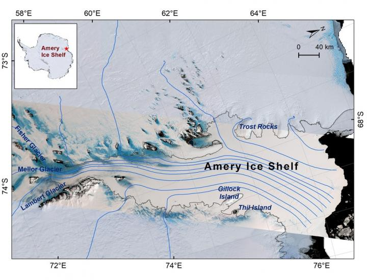 NASA's ICESat-2 satellite reveals shape, depth of Antarctic ice shelf fractures