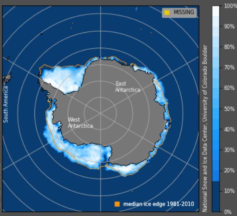 Antarctic Sea Ice Grows 2 Million Sq. Km – Area As Big As Saudi Arabia. And: Hamburg Spring Arriving Later…
