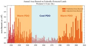 Acre of wildfire burned PDO.jpg