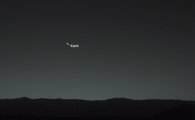 Stunning Photo Earth As Seen From Mars Watts Up With That