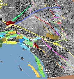 fault off san diego orange los angeles counties could produce 7 3 earthquake [ 3392 x 1872 Pixel ]