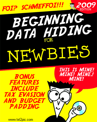 Data Hiding for Newbies
