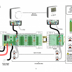 Room Stat Wiring Diagram How To Wire A Two Way Switch Sensor With Thermostat Library