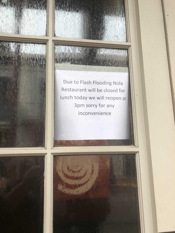 NOLA Restaurant Emeril Legasse closes due to floods