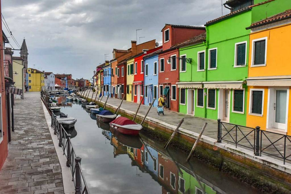 The colorful of Burano are an appealing reason to explore the Venice lagoon.