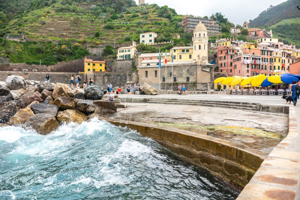 Visiting Cinque Terre we loved Vernazza