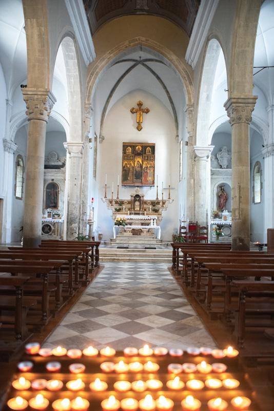 Visiting Cinque Terre Manarola Church