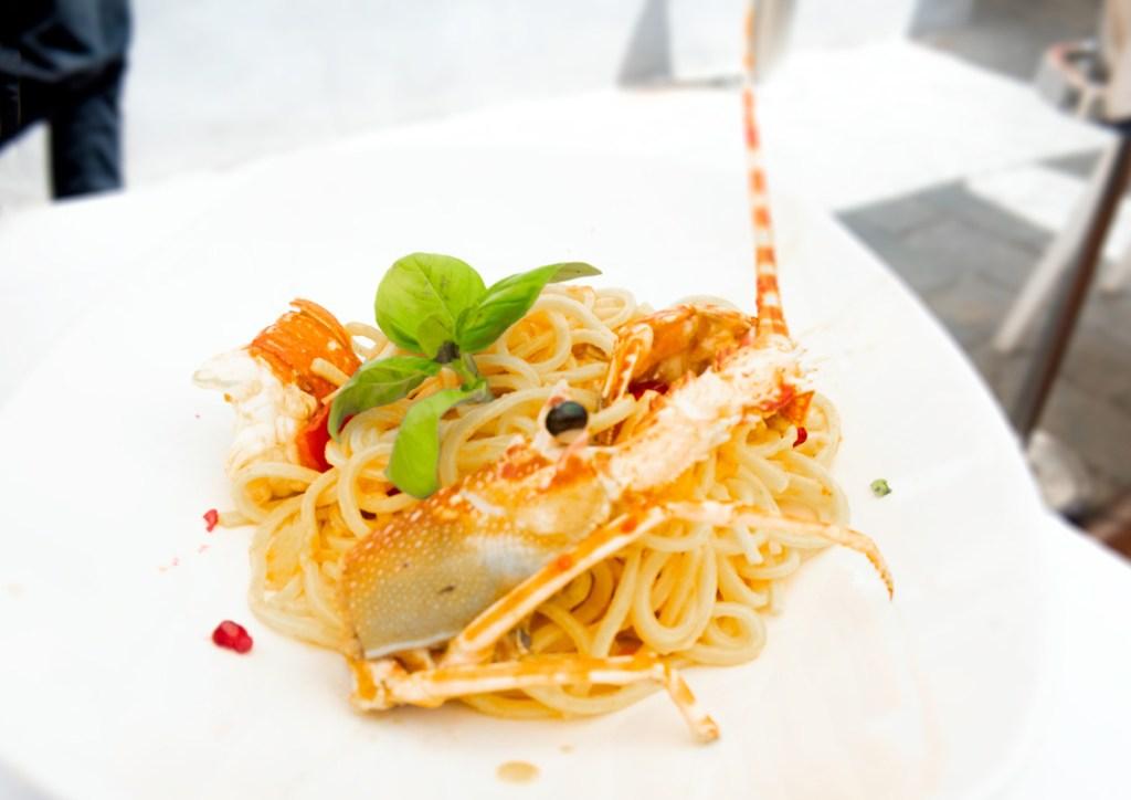 The best seafood in the Cinque Terre is at Dau Cila in Riomaggiore