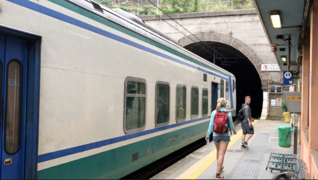 Visiting Cinque Terre is made easy by the trains that service each town.