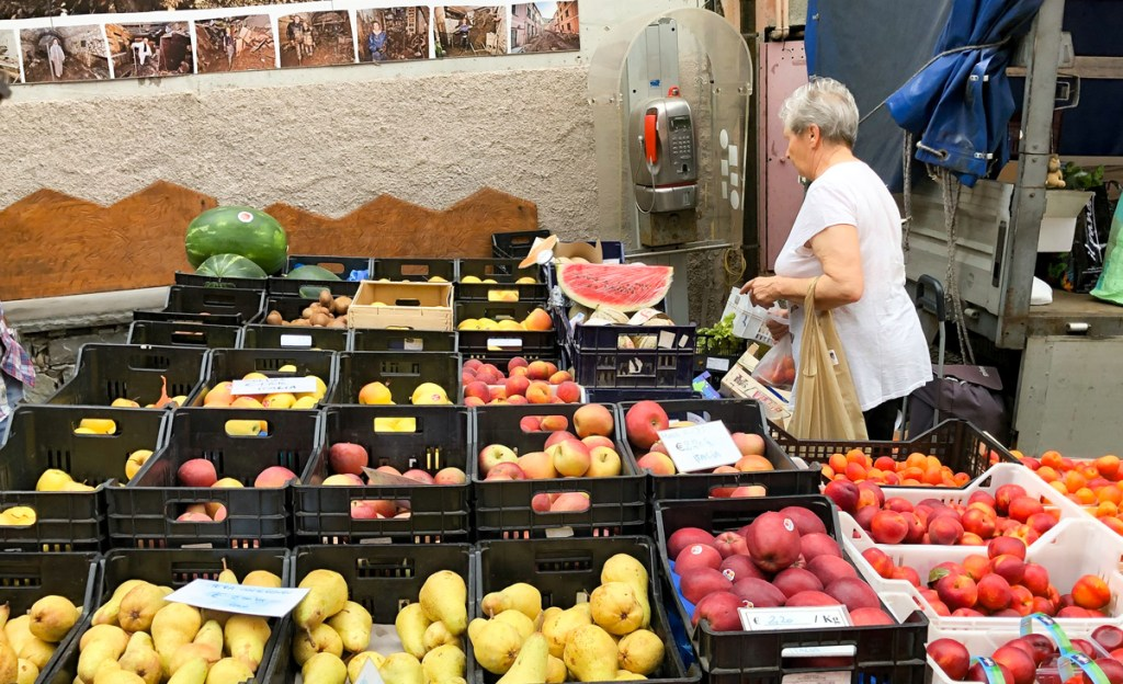 Stock up on fresh produce when visiting Cinque Terre